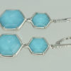 Earrings Stephen Webster turquoise backed rock crystal