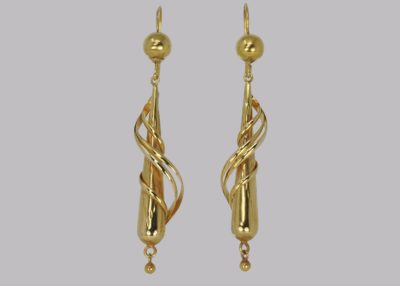 Victorian 18ct Gold Drop Earrings
