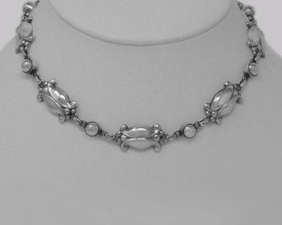Georg Jensen Moonlight Blossom Necklace