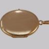 vintage 9ct gold Scroll locket