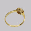 Edwardian Diamond Cluster Ring 18ct gold