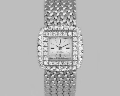 Vintage Omega Diamond Bracelet Watch