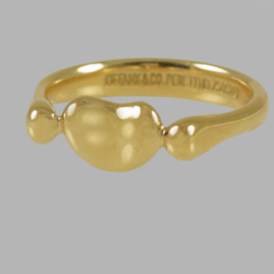 Tiffany & Co Elsa Peretti 18ct Gold Bean Ring