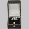 Antique Pearl & Diamond Trilogy Twist Ring