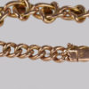 antique 9ct gold bracelet