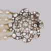 Gorgeous pearl necklace with sensational diamond clasp