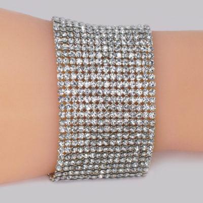 Vintage Chanel Crystal Mesh Bracelet