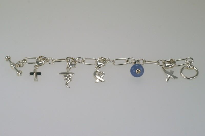 Tiffany & Co Paloma Picasso Charm Bracelet
