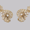 Antique diamond and pearl earrings