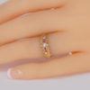 vintage ruby ring on finger