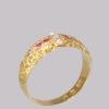 vintage ruby ring