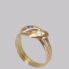 Hallmarked gold ring