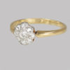 Vintage Diamond Cluster Ring 2.5 Grams