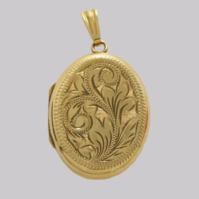 Victorian 9ct Gold Photo Locket