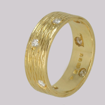 Vintage Kutchinsky Diamond Ring